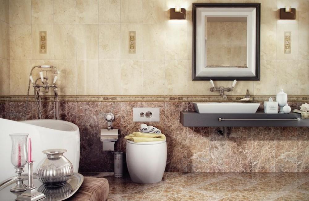 Керамическая плитка для ванной дизайн россия кировская керамика