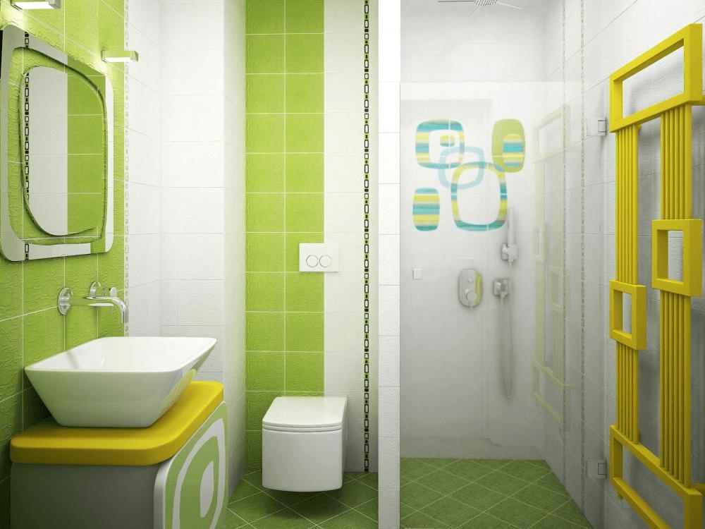 Ванная комната кафель дизайн 196